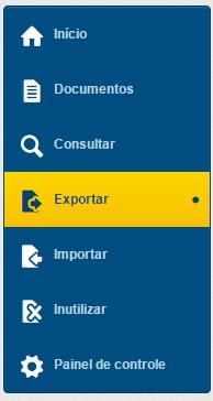 Menu exportar