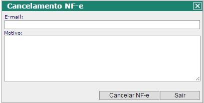 Cancelamento NFSe